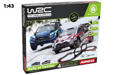 CIRCUIT RALLY OF SWEDEN 1/43