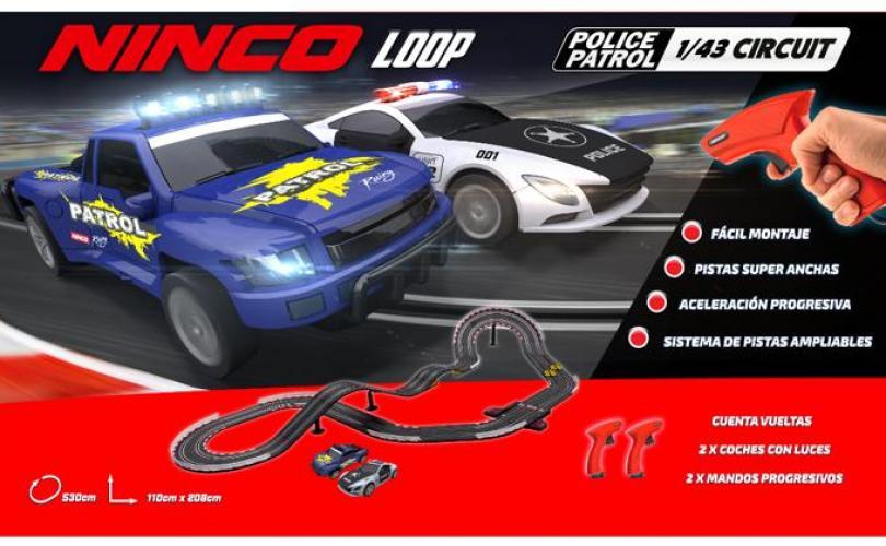 Circuit Ninco Loop Police Patrol 1/43