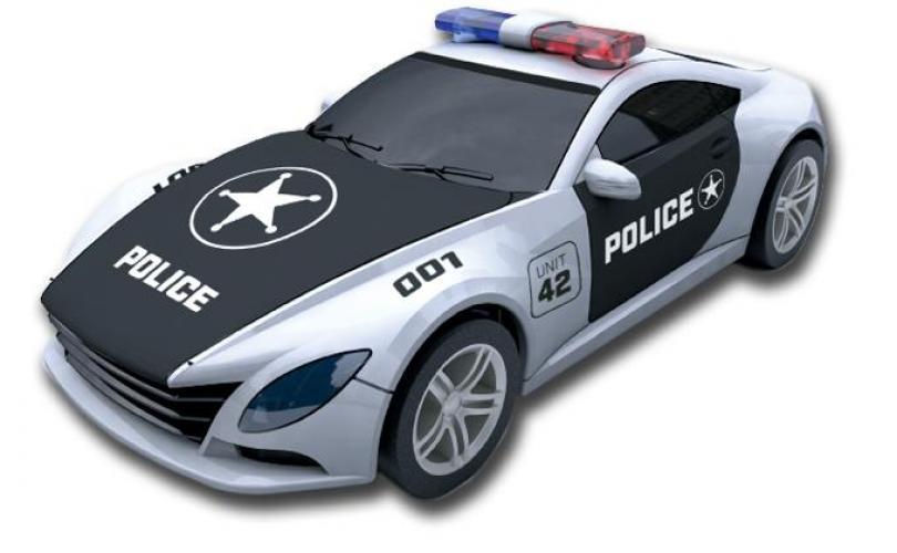 Ninco Slot Car 1/43 Police