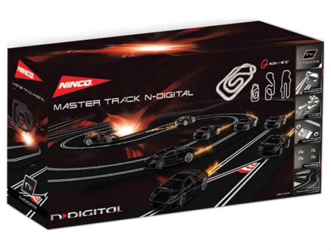 N' Digital Mastertrack V.09  m. 3 Handr., 3 Decoder, 1 Netzg.