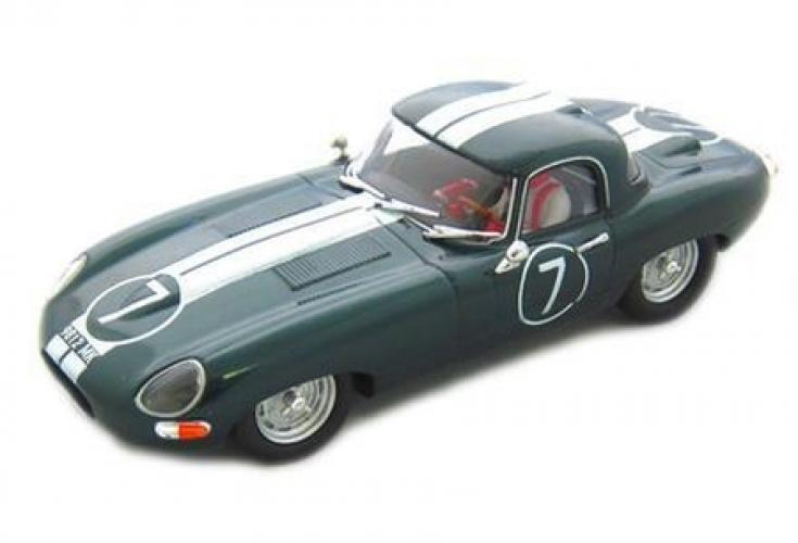 JAGUAR E-TYPE ROADSTER -BRITISH GREEN-