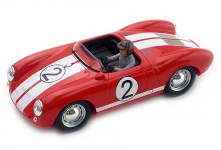 PORSCHE 550 -SPYDER RED-