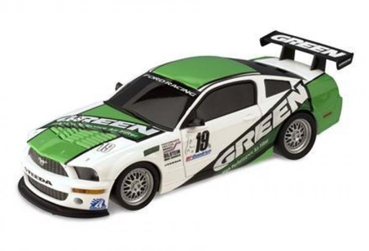 FORD MUSTANG -GREEN-