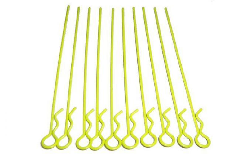 CPV EXTRA-LONG YELLOW BODY CLIPS