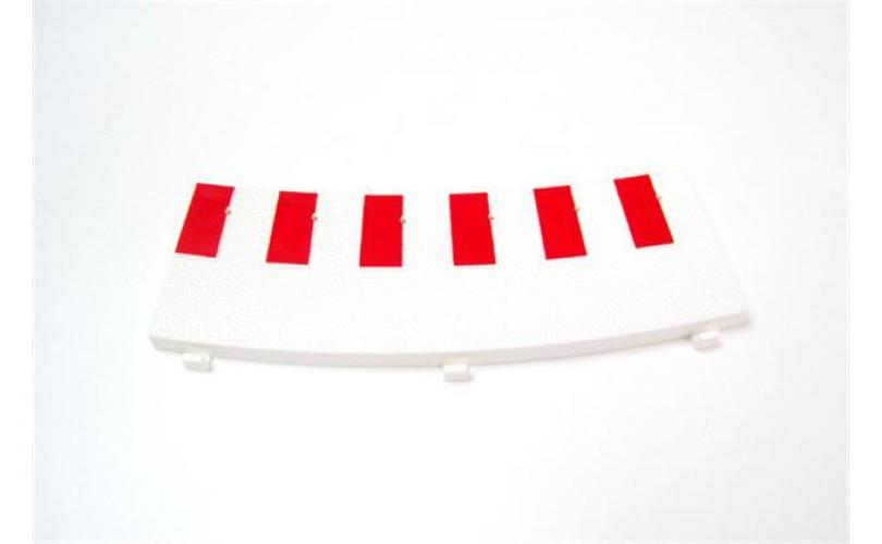 6 X INNER BORDER OUTER CURVE