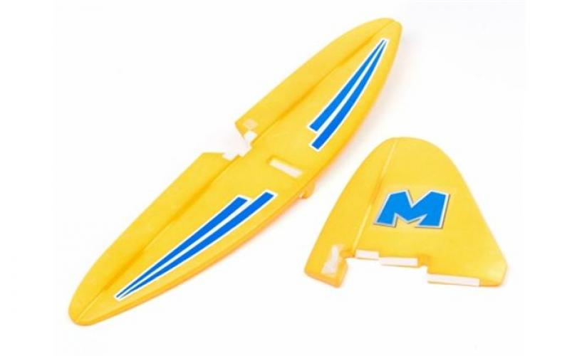 TAIL SET (YELOW) (FIRST GLIDER)