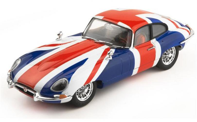JAGUAR E-TYPE COUPE - UNION JACK